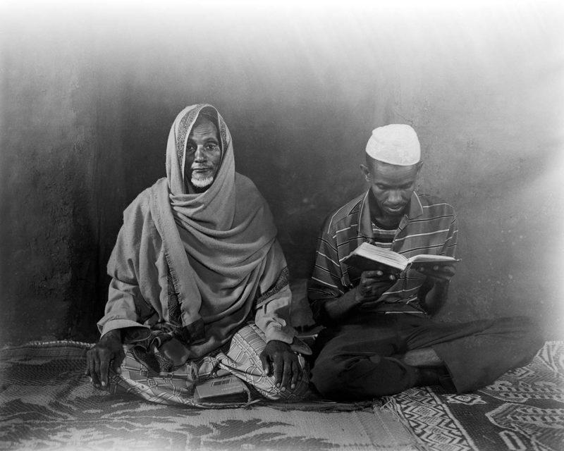 Dire Sheikh Hussein: family portrait. 4x5