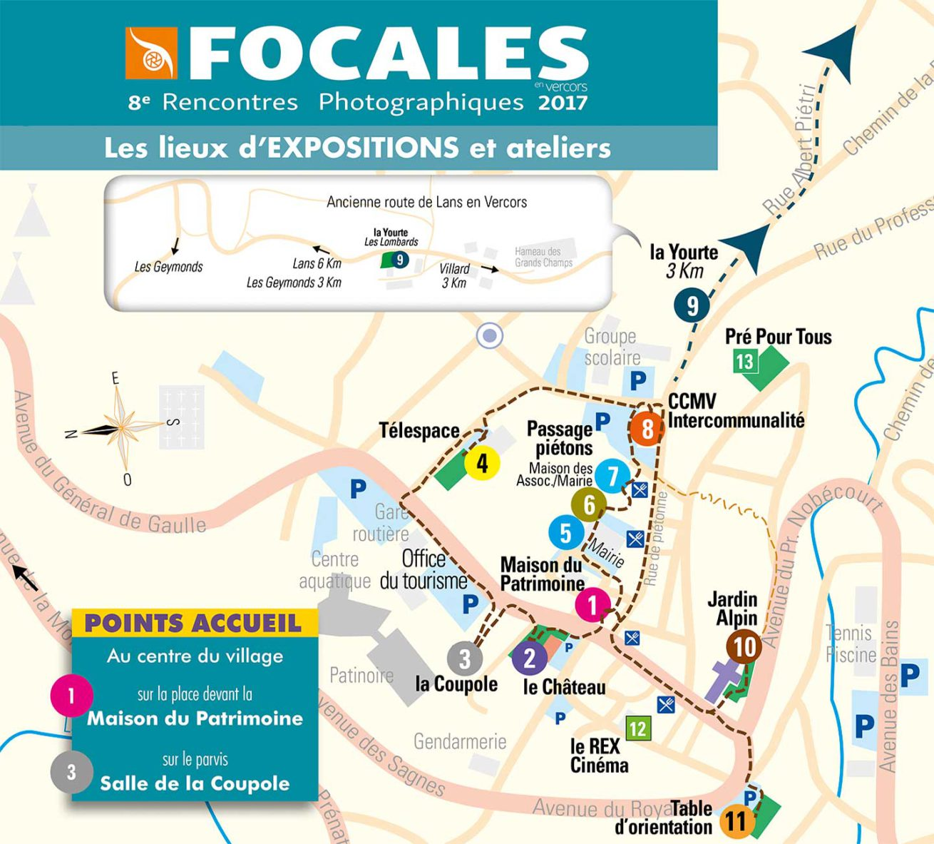 Photo festival Focales en Vercors, practical information