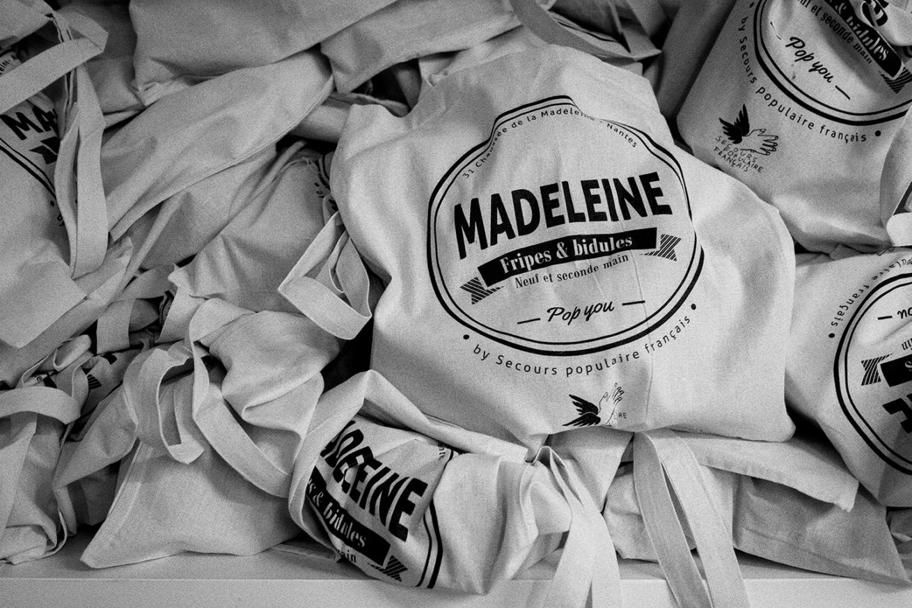 "Madeleine ""Fripes & Bidules"" - Secours Populaires de Nantes"