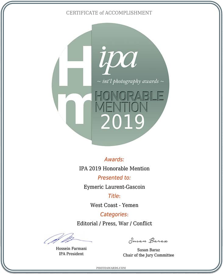IPA 2019 Honorable mention